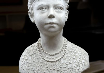 Girl sculpture